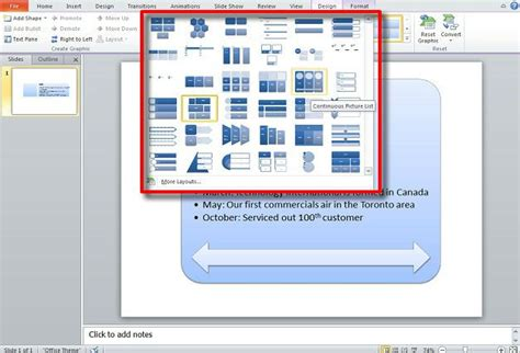 smartart hierarchy layout powerpoint create a timeline in powerpoint using smartart graphics
