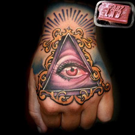 left eye tattoo illuminati eye images designs