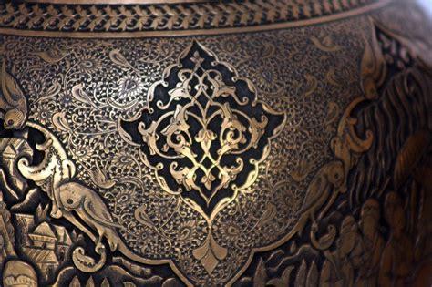 ghalam zani engraving metal work qalamzan筰 persis