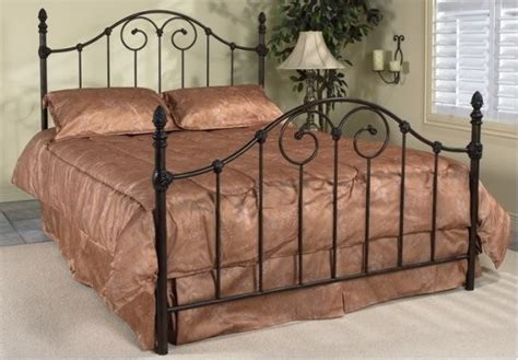 Wrought Iron Bed Frames Antique Brown Wrought Iron Bed Frame Traditional Beds Toronto By Inspired