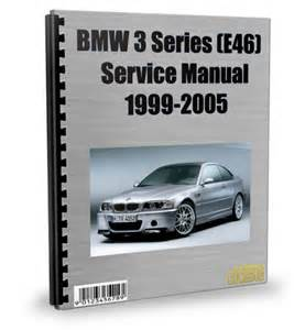 bmw 3 series e46 1999 2005 service repair manual