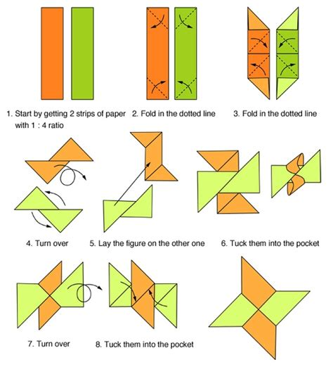 How To Fold A Paper Throwing - origami folding origami