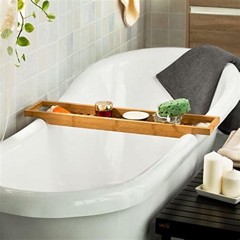 accessori vasca da bagno sobuy ripiano per vasca da bagno in bamb 249 scaffale da