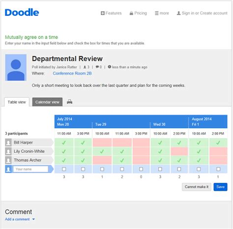 how to schedule a doodle poll organise your work schedule at doodle doodle