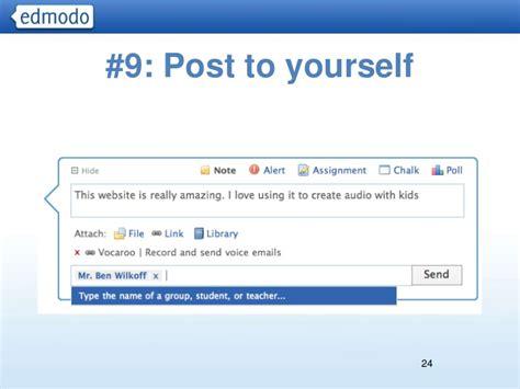 edmodo not showing posts advanced edmodo