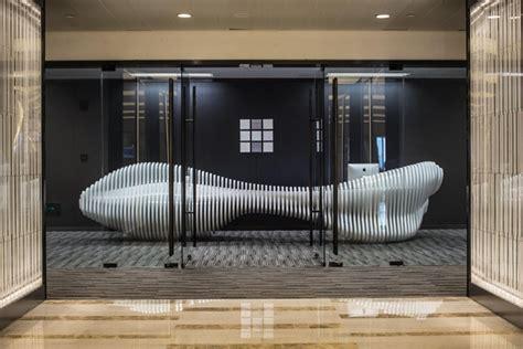 retail front desk furniture sculptural 187 retail design