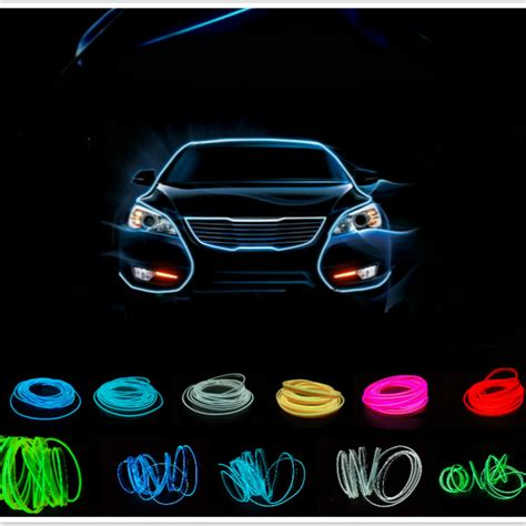 Neon Led Motor lu interior mobil led neon rgb 3 meter with 12v inverter blue jakartanotebook