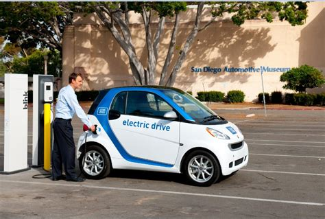 smart car charging station us car2go to launch 100 ev car service
