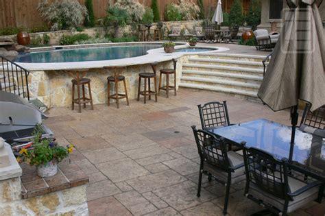 stamped pool decks pc  rey