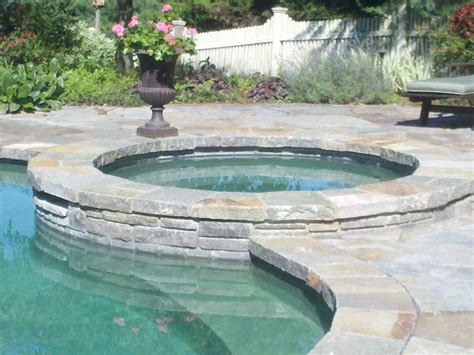 stone pool deck stone masonry repair needed on this pool deck and patio