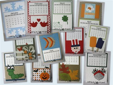 Paper Craft Calendars - 17 best images about 2016 calenders on free