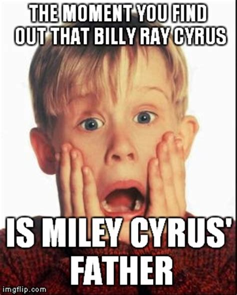 Billy Ray Cyrus Meme - home alone kid imgflip
