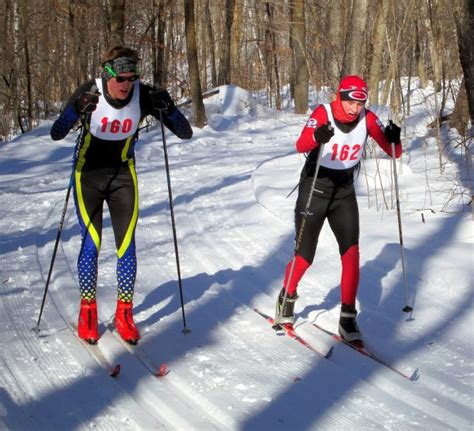 section 8 ski section 8 nordic ski chionships maplelag resort