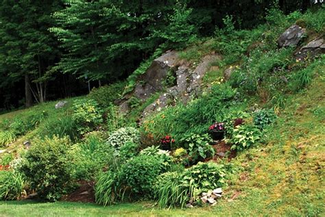 lessons from the gardening on rocky and steep
