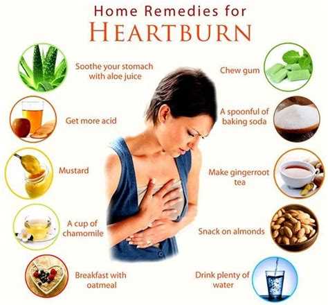 Home Remedy Heartburn by Top Remedies To Relieve Heartburn Diets Advisor