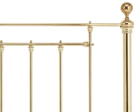 brass headboard benjamin brass metal headboard just headboards