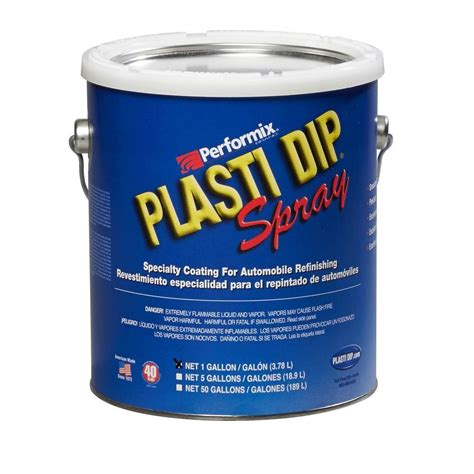 plasti dip 1 gal black plasti dip spray 10103s the home