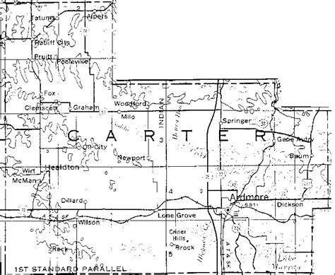 Section 8 Seminole County by County Oklahoma Section Map Pictures