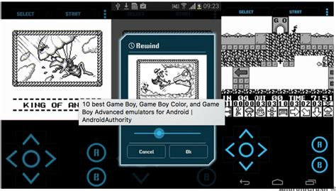 gba android emulator original gameboy emulator android