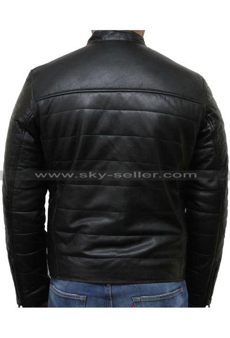 padded motorcycle jacket s black puffer padded motorcycle leather jacket