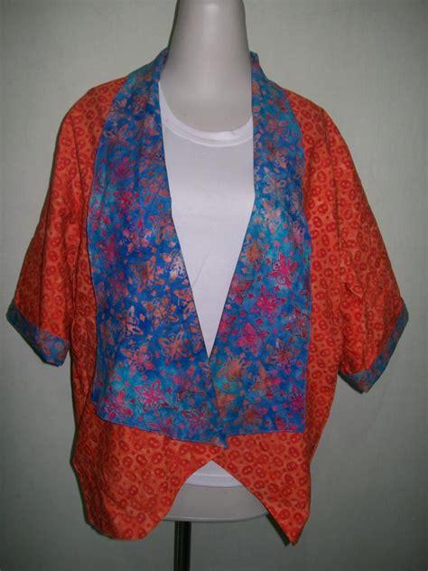 Kardigan Cardigan Bolero Bolak Balik Batik Murah bolero cardigan batik murah modern bolak balik harga rp125 000
