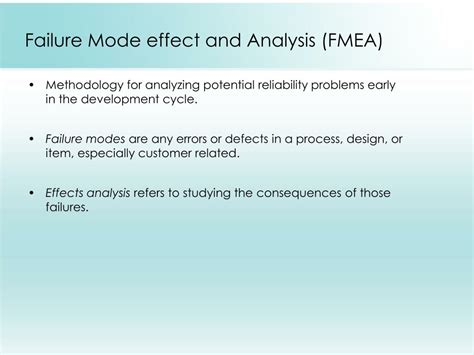design failure mode effect analysis fmea ppt root cause analysis presented by team incredibles