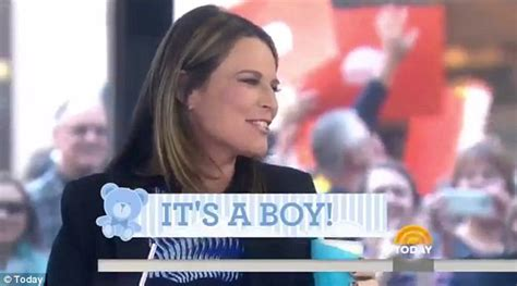 savannah guthrie 2nd pregnancy savannah guthrie reveals she is having a baby boy live on