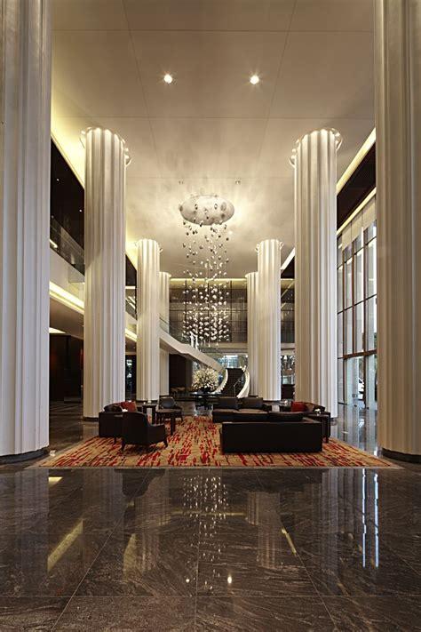 Floor Plan Interior Pune Marriott Lobby
