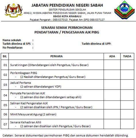 semak haji 2016 sk poring poring senarai semak permohonan pendaftaran