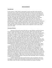 theme in literature rough draft tranard literature review sle rough draft
