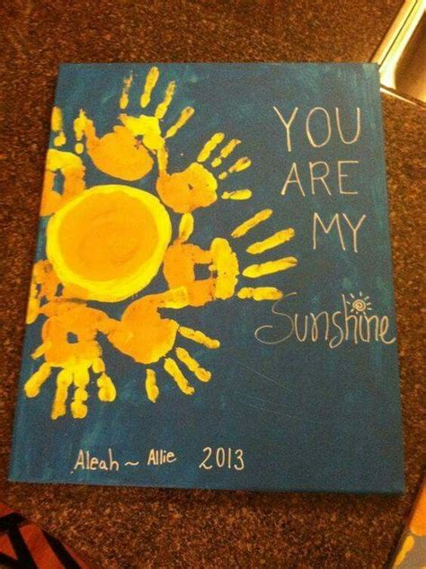 You Are My 4 you are my painted picture preschool
