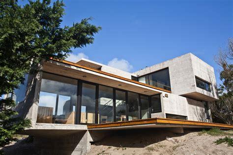 baring house bare concrete beach house