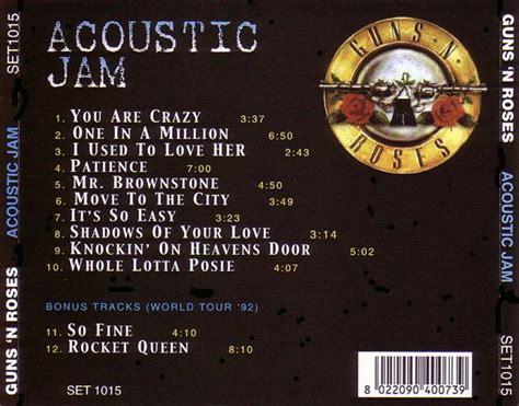download mp3 guns n roses acoustic guns n roses acoustic jam 1cd giginjapan