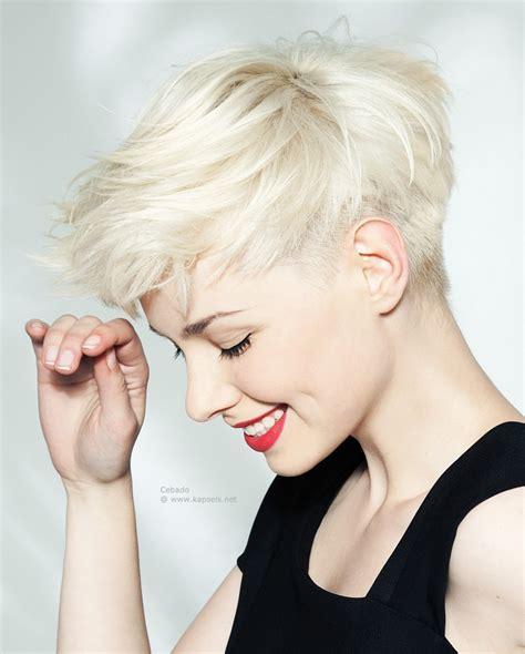 11 sophisticated and sexy short haircuts for women with gray hair kort kapsel met een geschoren ondersnit en piekjes