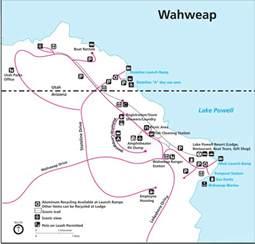 lake powell maps npmaps just free maps period