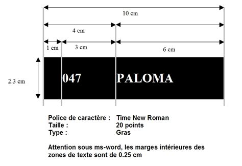 Modele Etiquette Boite Aux Lettres