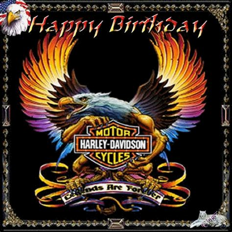 Harley Davidson Birthday Cards Harley Davidson Graphics Pictures Images And Harley