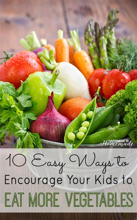 easy ways    kids  eat  vegetables