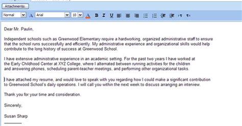 email sle for sending resume sending resume email sle 28 images sle cover letter