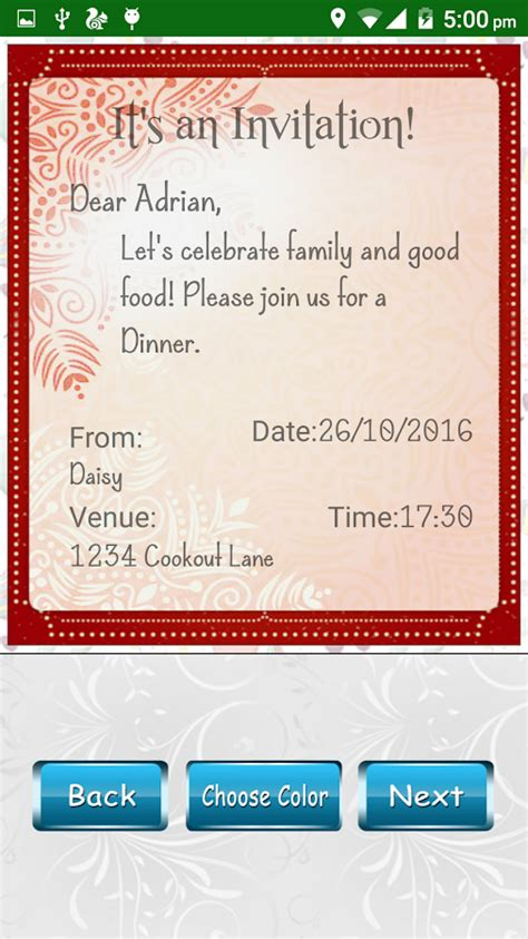 invitation card design app for android party invitation card designer android apps on google play