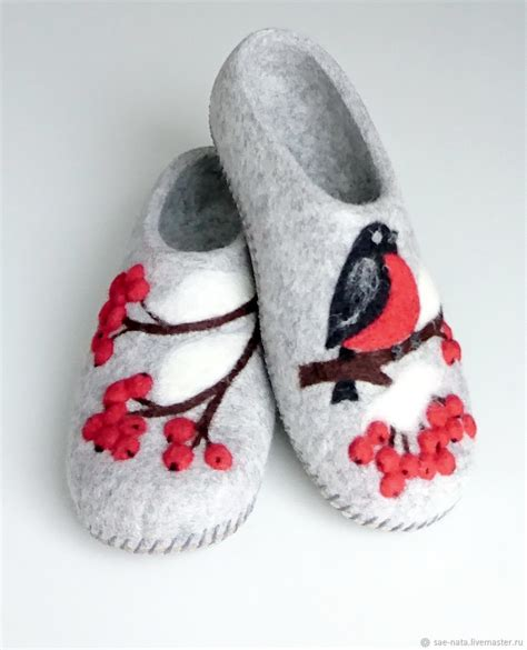 Slippers Handmade - s felted slippers from wool shop on