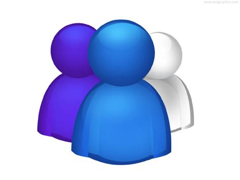 Group of people icon (PSD) | PSDGraphics