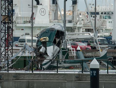 boat crash auckland helicopter crashes in marina editorial stock image image