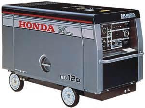 Generator Honda Diesel Honda Eb12d Generator Parts