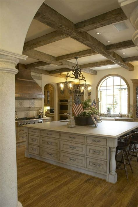 french country kitchen island the sophistication of 20 country kitchens with character cabinet colors