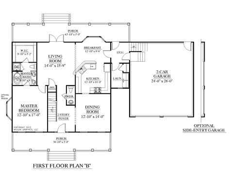 Floor Plans With Two Master Suites by Southern Heritage Home Designs House Plan 2341 B The