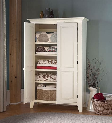 White Bathroom Cabinet Ideas by Handcrafted Linen Cupboard Kitchen Furniture