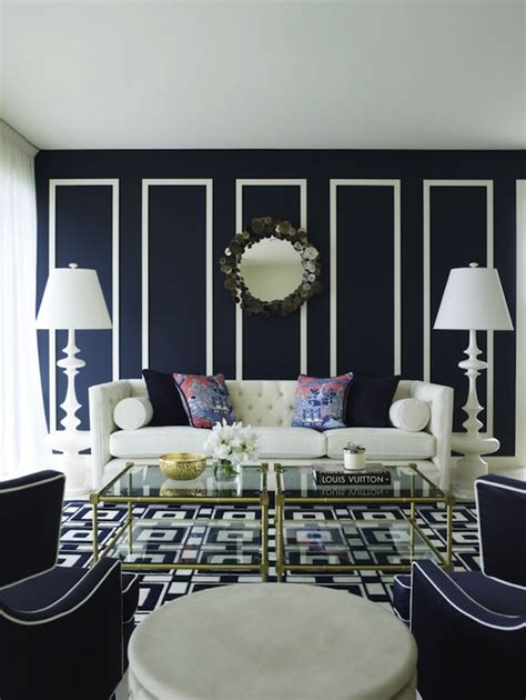 blue and white living room contemporary white and blue living room by greg natale