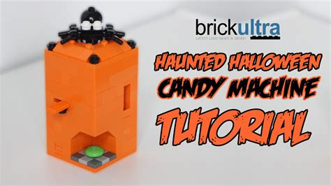 tutorial lego machine haunted halloween lego candy machine tutorial