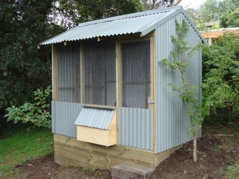 colorbond chicken house custom designed built by